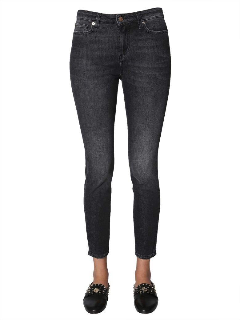 Versace Collection Skinny Fit Jeans - NERO