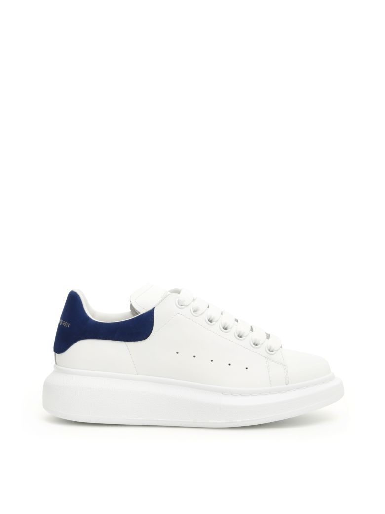Alexander McQueen Oversized Sneakers - WHITE PARIS BLUE (White)