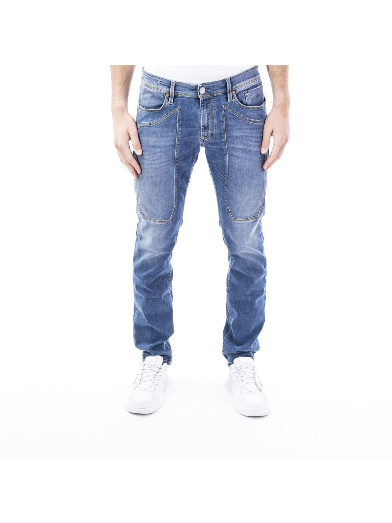 Jeckerson Blend Cotton Jeans - Light Blue