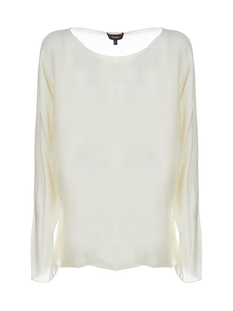 Theory Loose Fit Blouse - Avorio