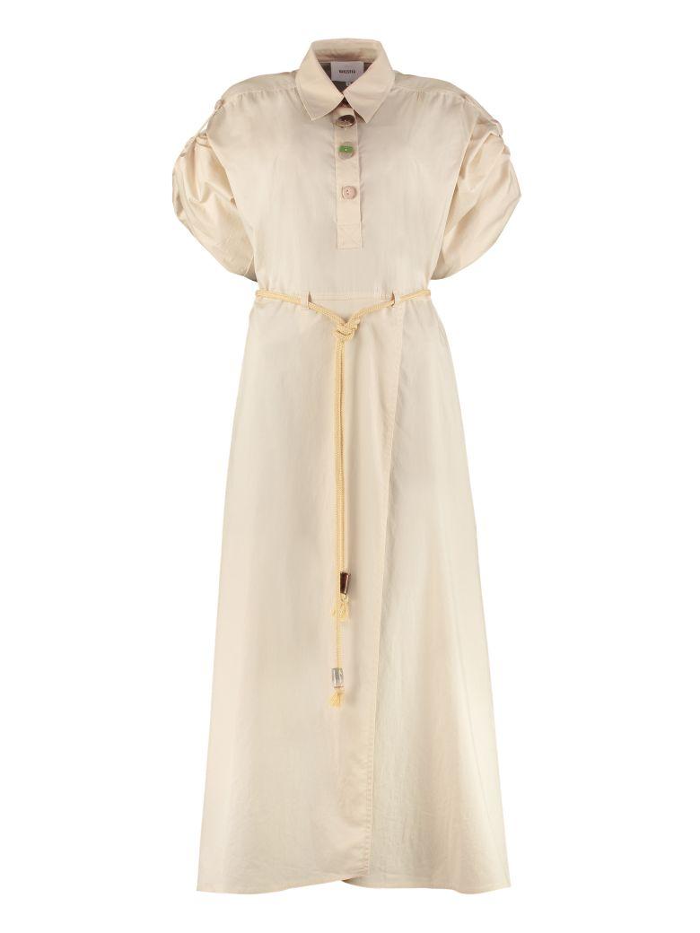 Nanushka Hanna Cotton-poplin Shirtdress - Beige