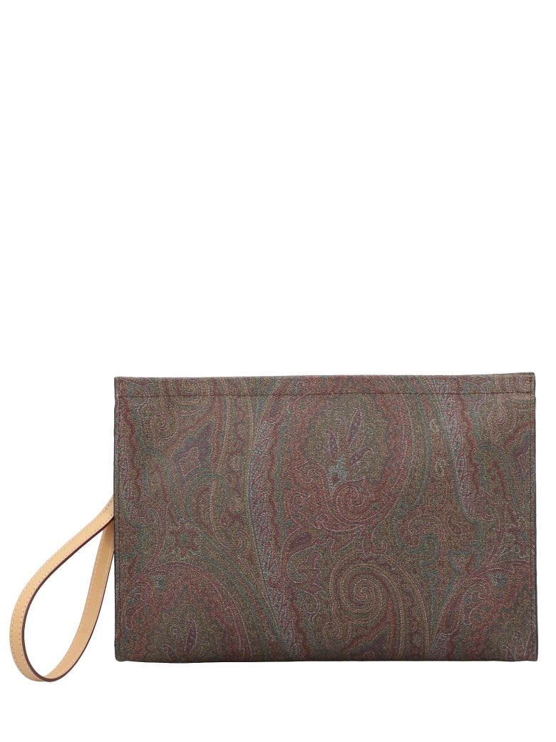 Etro Paisley Patterned Clutch - MULTI