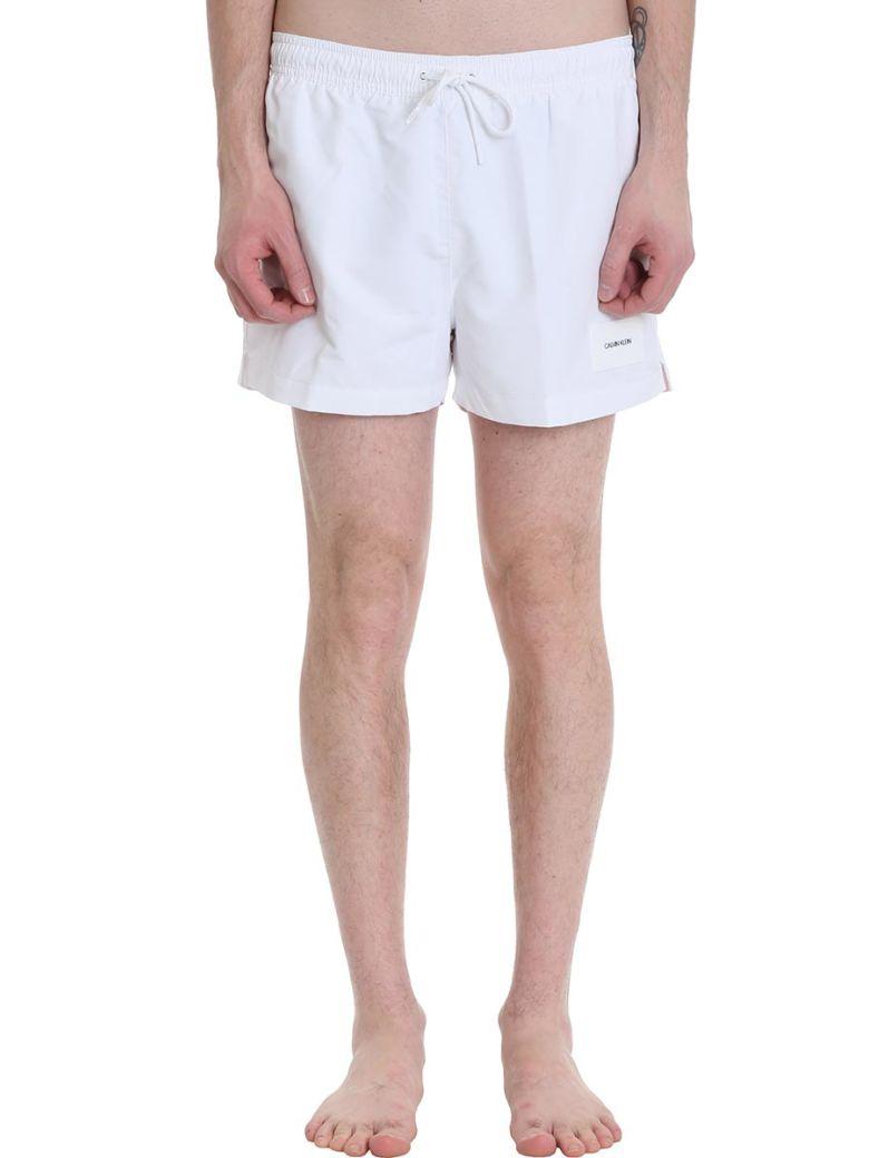 Calvin Klein Jeans White Nylon Swimwear - white