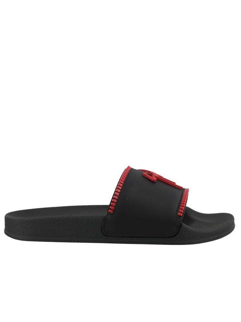 Giuseppe Zanotti Slide Sandals - Black
