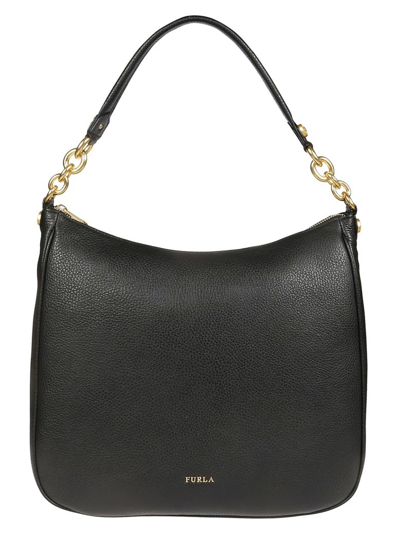 Furla Classic Hobo Bag - Onyx