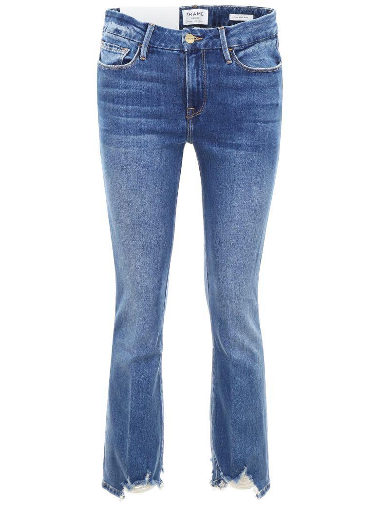 Frame Le Crop Mini Boot Jeans - CLAPPSON (Blue)