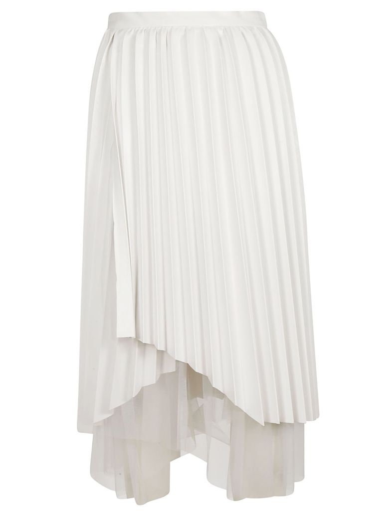 Ermanno Scervino Pleated Skirt - White