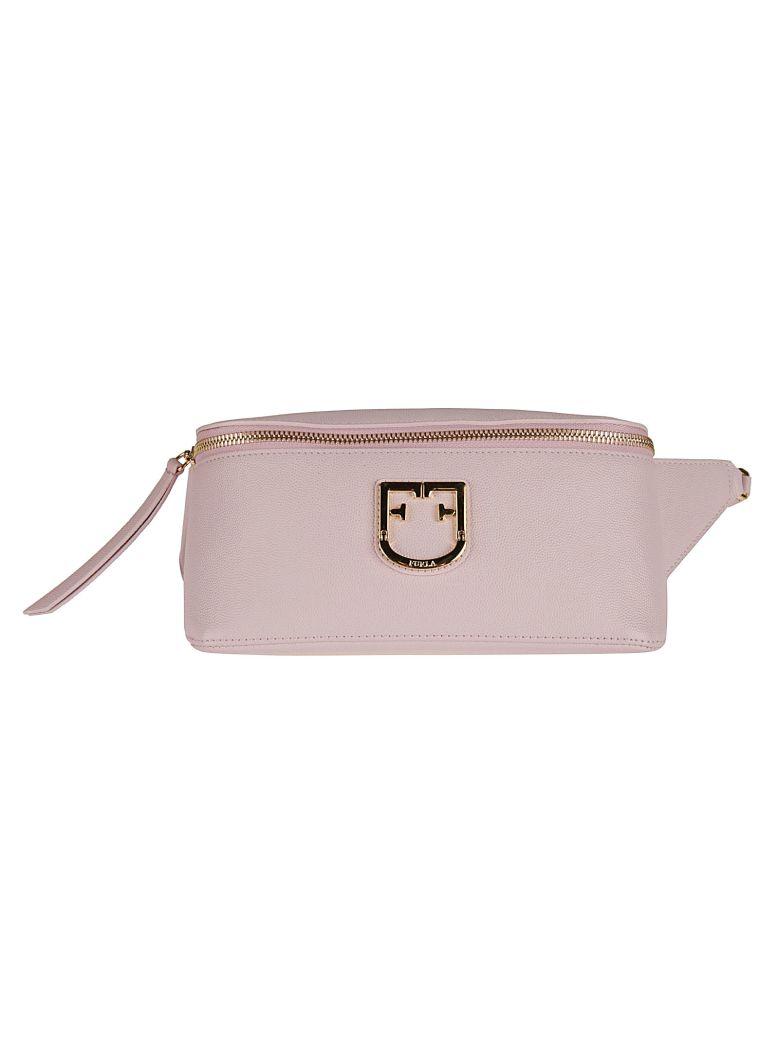 Furla Logo Plaque Shoulder Bag - Basic