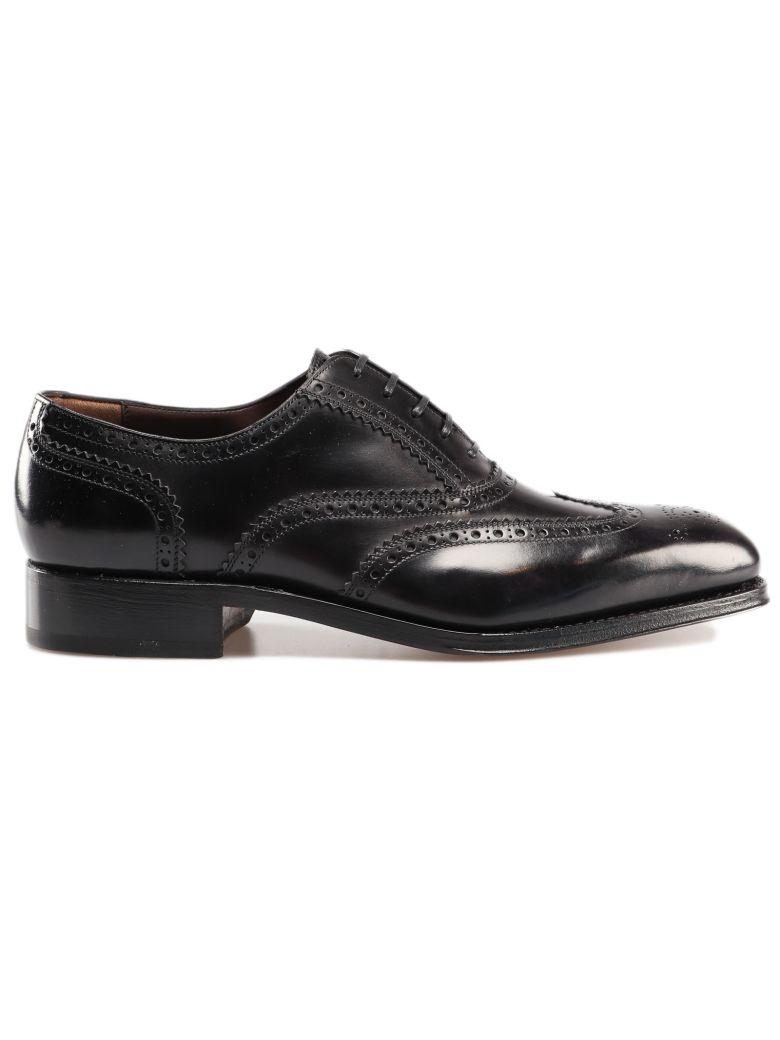 Salvatore Ferragamo Bord Oxford Shoes - Black
