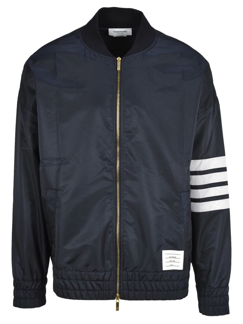 Thom Browne Oversized Bomber - NAVY BLUE