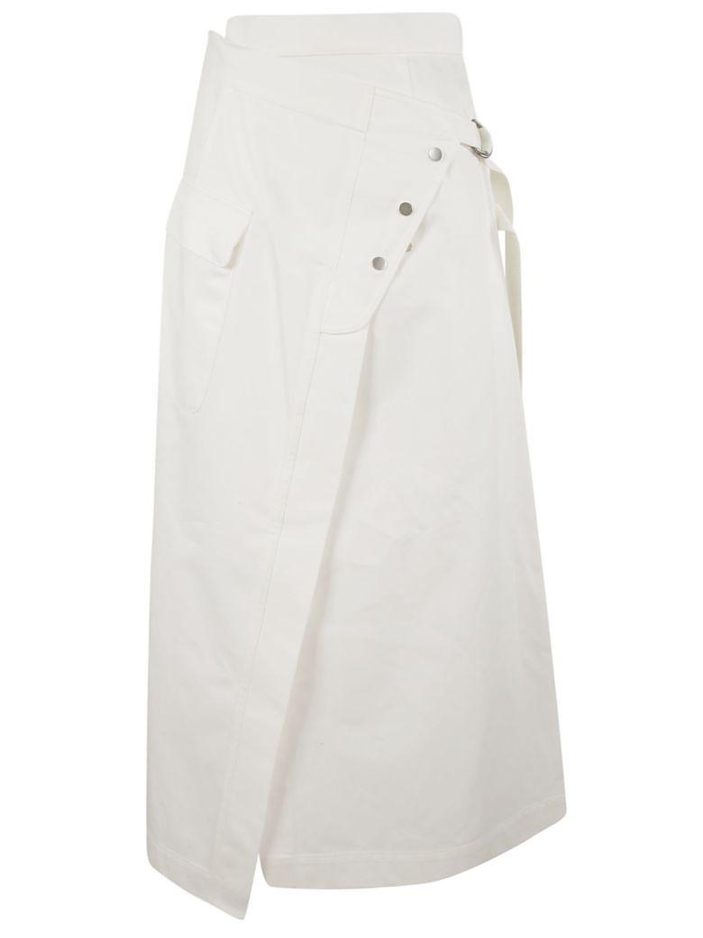 Golden Goose High Waisted Skirt - White