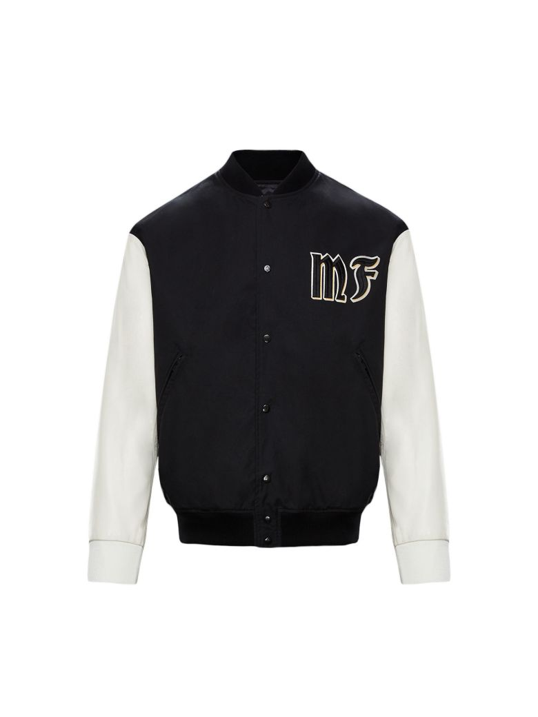 Moncler Genius Embroidered Logo Jacket - Black