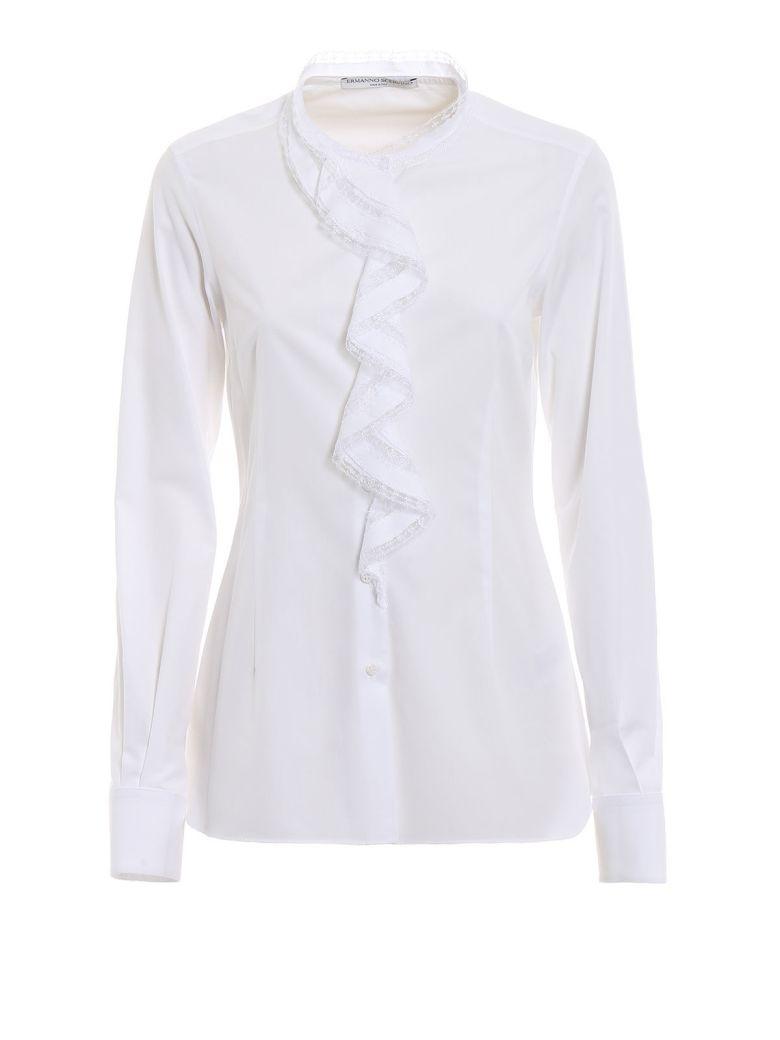 Ermanno Scervino Ruffle Shirt - Bianco