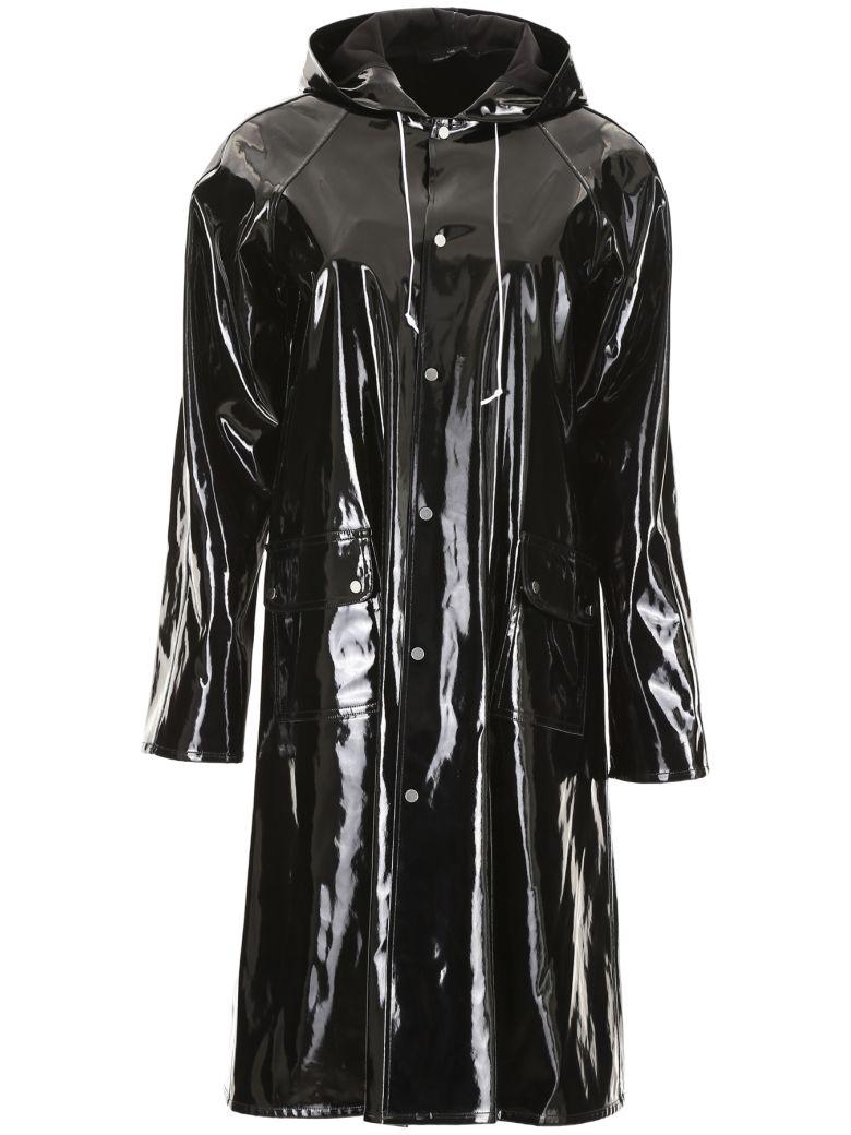 Rokh Vinyl Raincoat - BLACK (Black)
