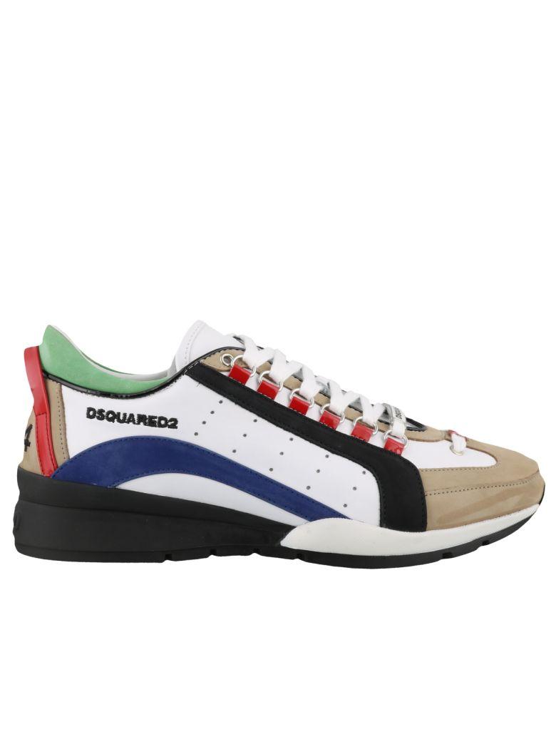 Dsquared2 Sneaker 551 - Bianco+blu+nero