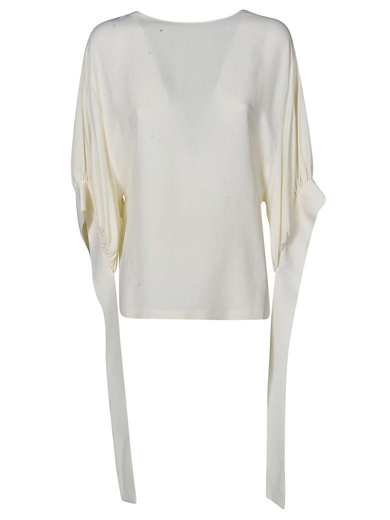 Erika Cavallini Strap Detail Tunic Top - Bianco