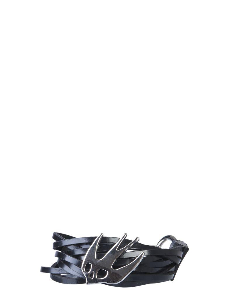 McQ Alexander McQueen Swallow Nest Bracelet - NERO