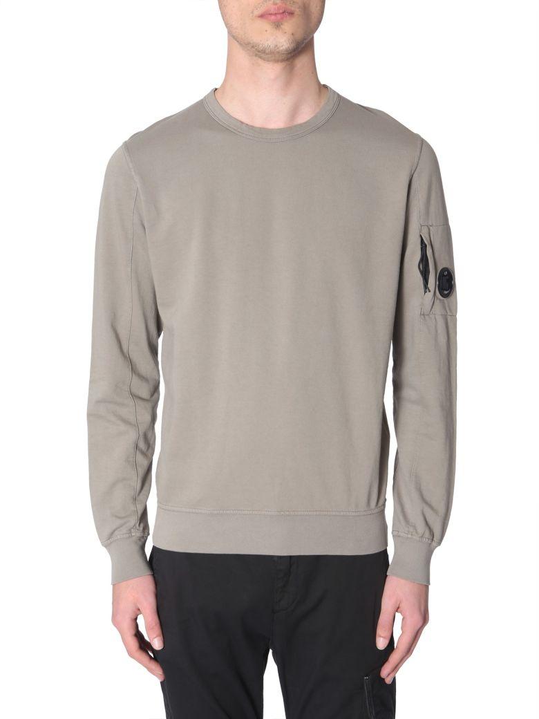 C.P. Company Crew Neck Sweatshirt - Green