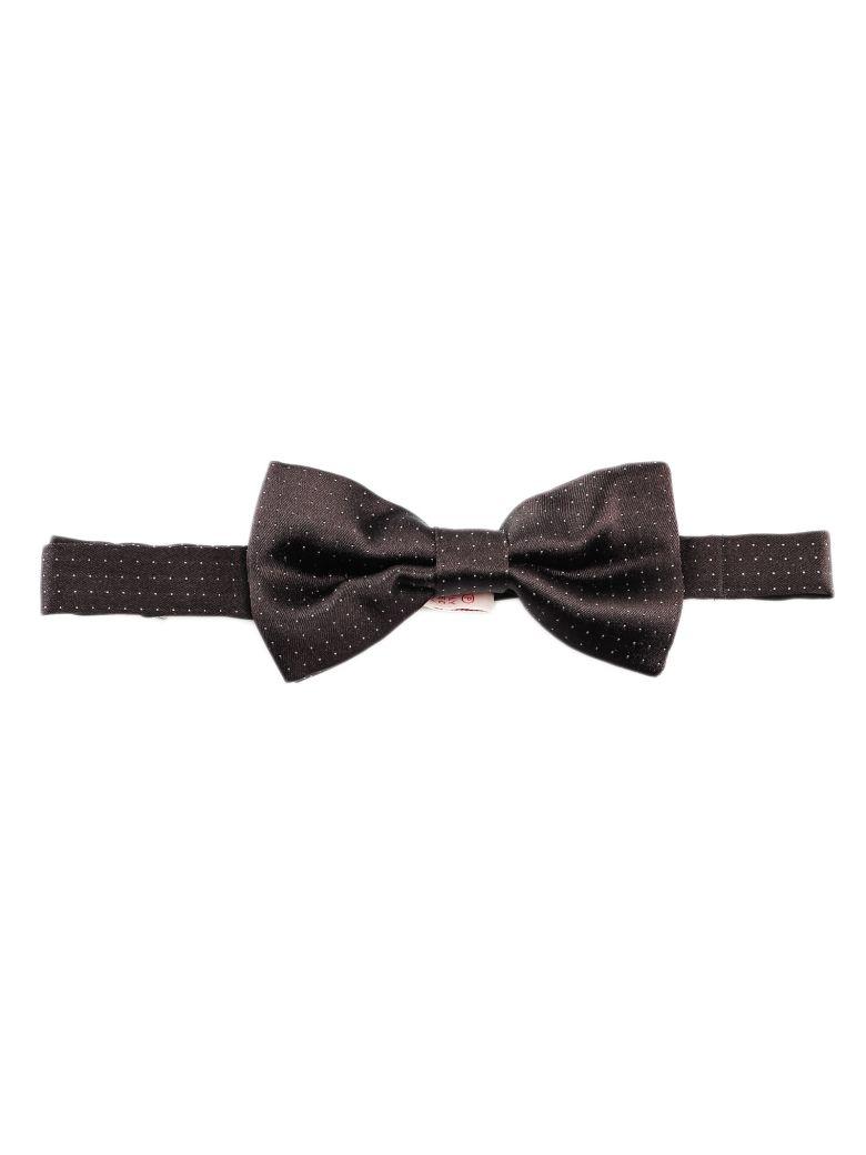 Tagliatore Patterned Bow Tie - Black