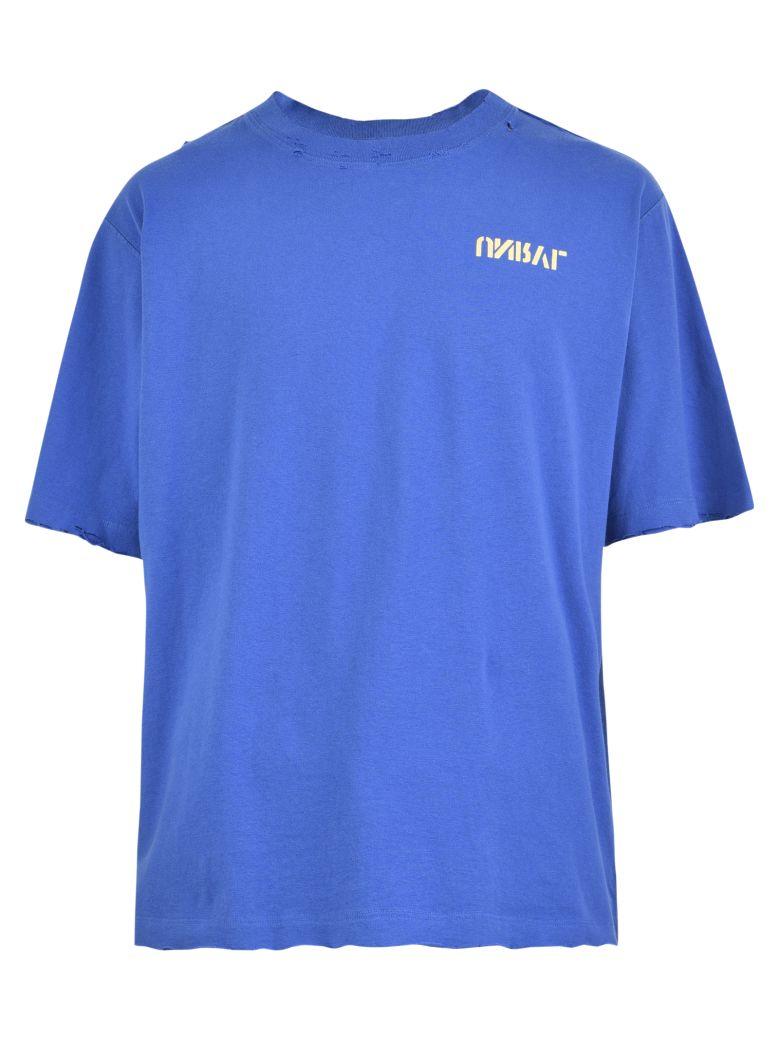 Ben Taverniti Unravel Project Printed T-shirt - Blue