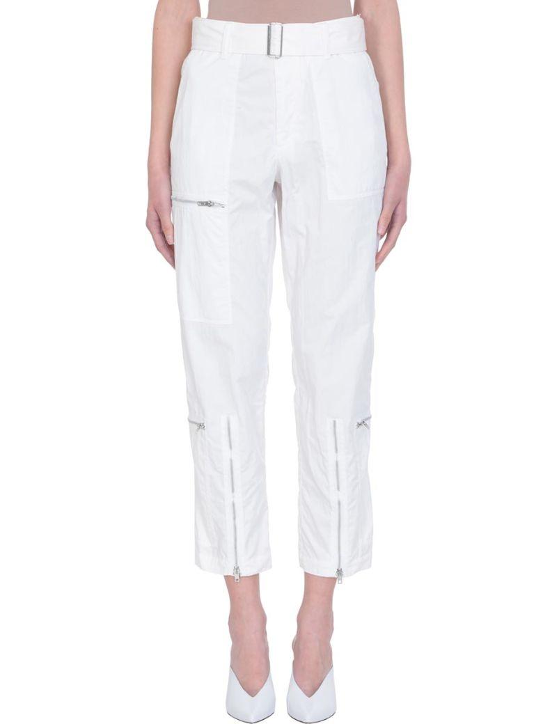 Helmut Lang Flight White Pants - white