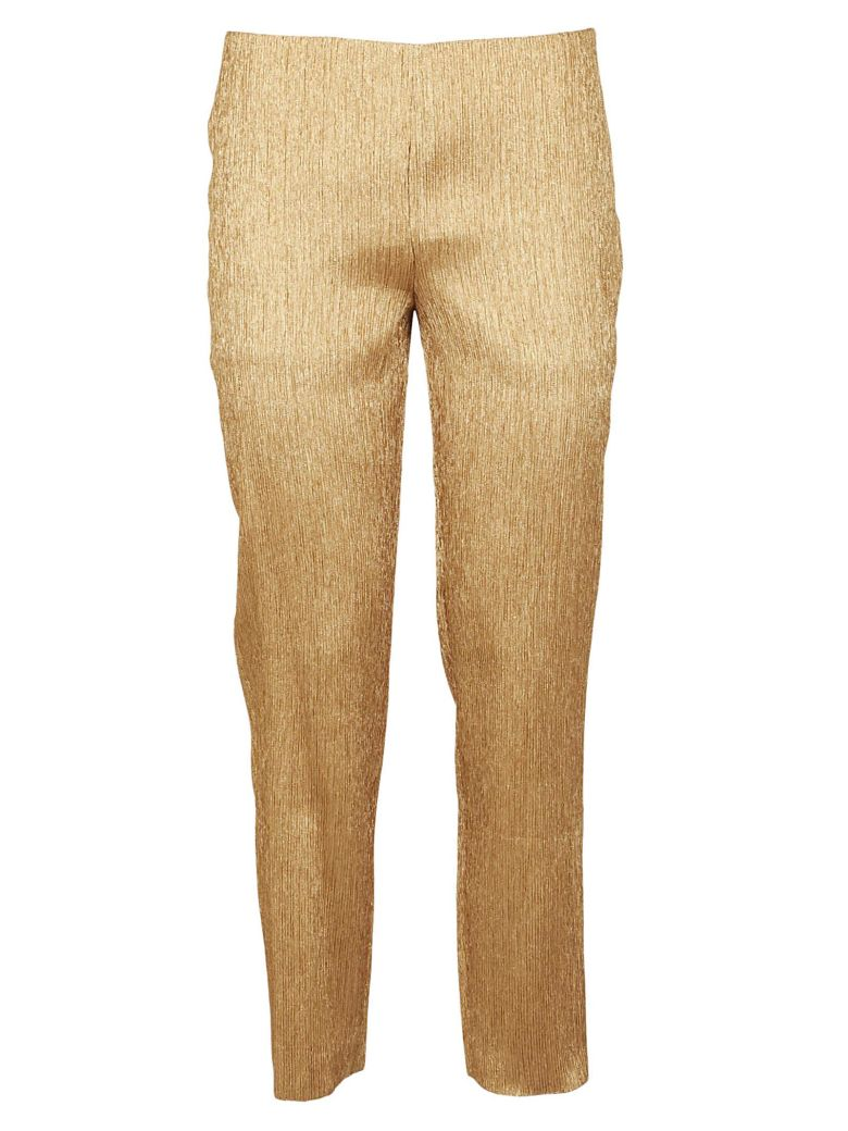 M Missoni Crepe Effect Trousers - Gold