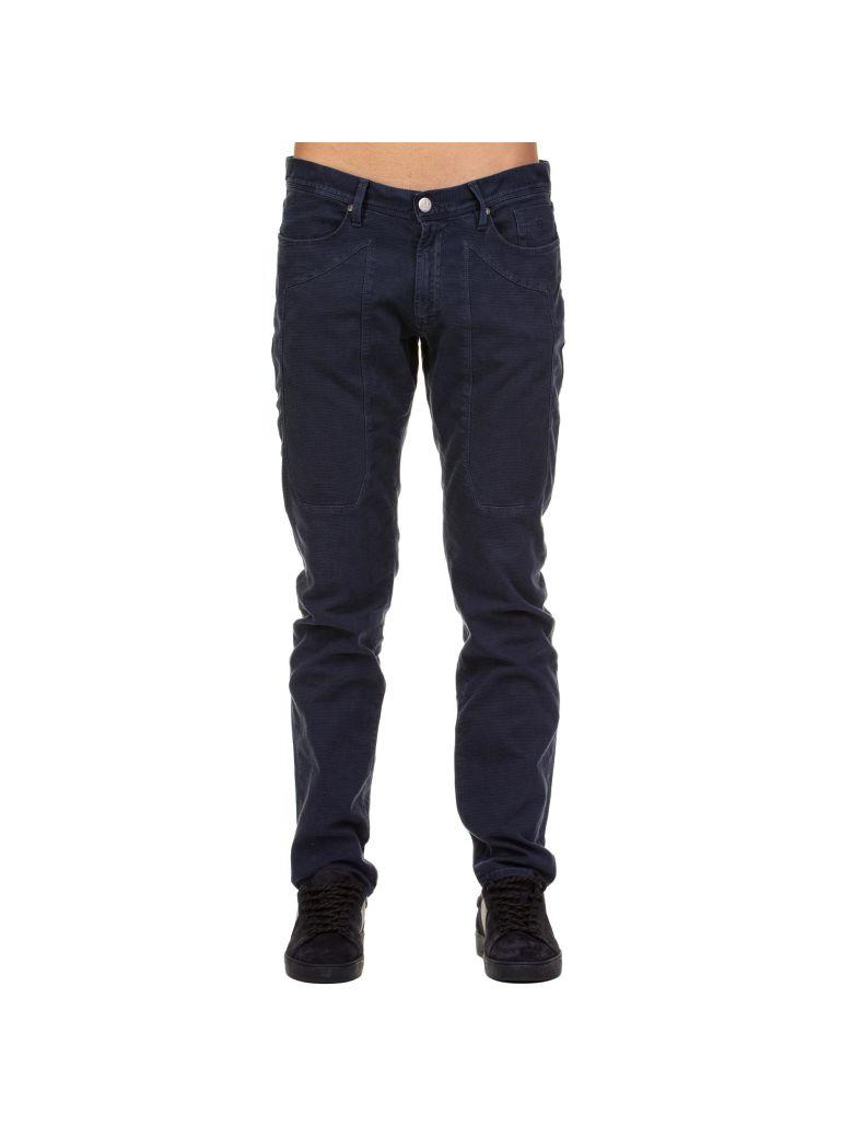 Jeckerson Jeckerson Cotton Stretch Trousers - BLUE