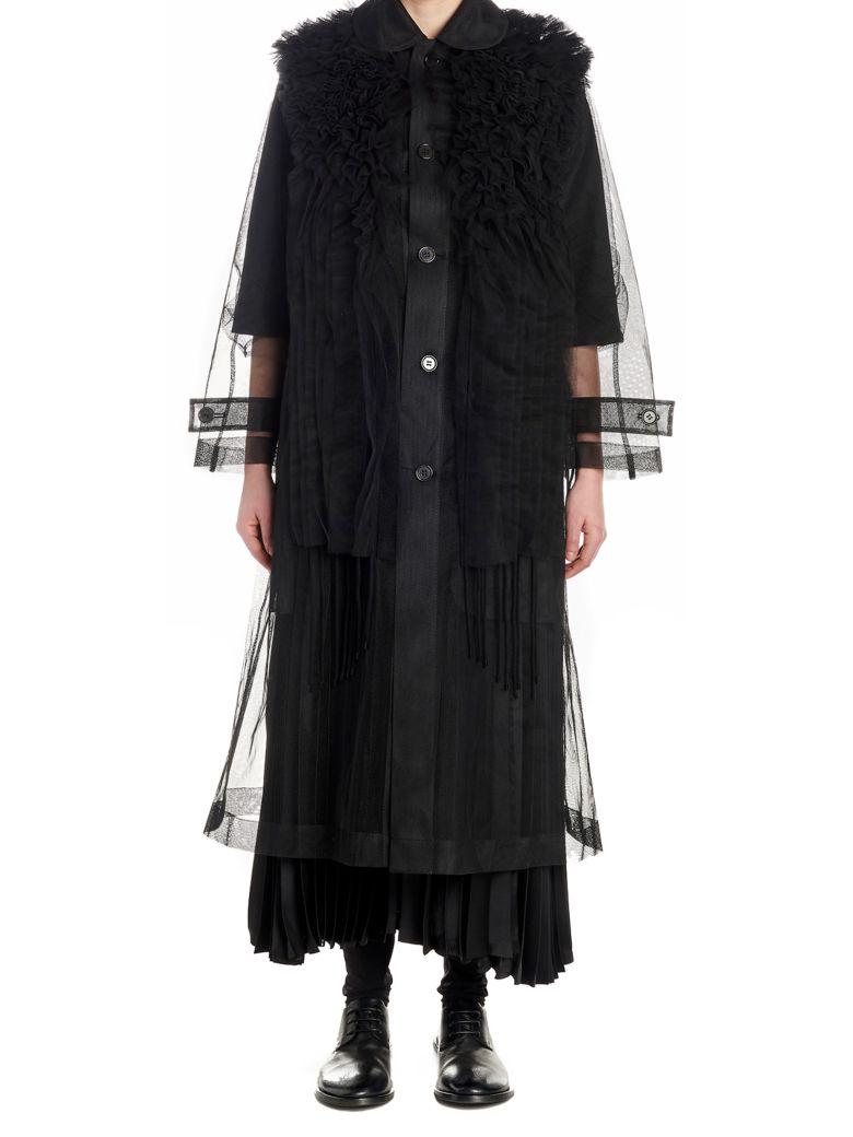 Noir Kei Ninomiya Trench - Black