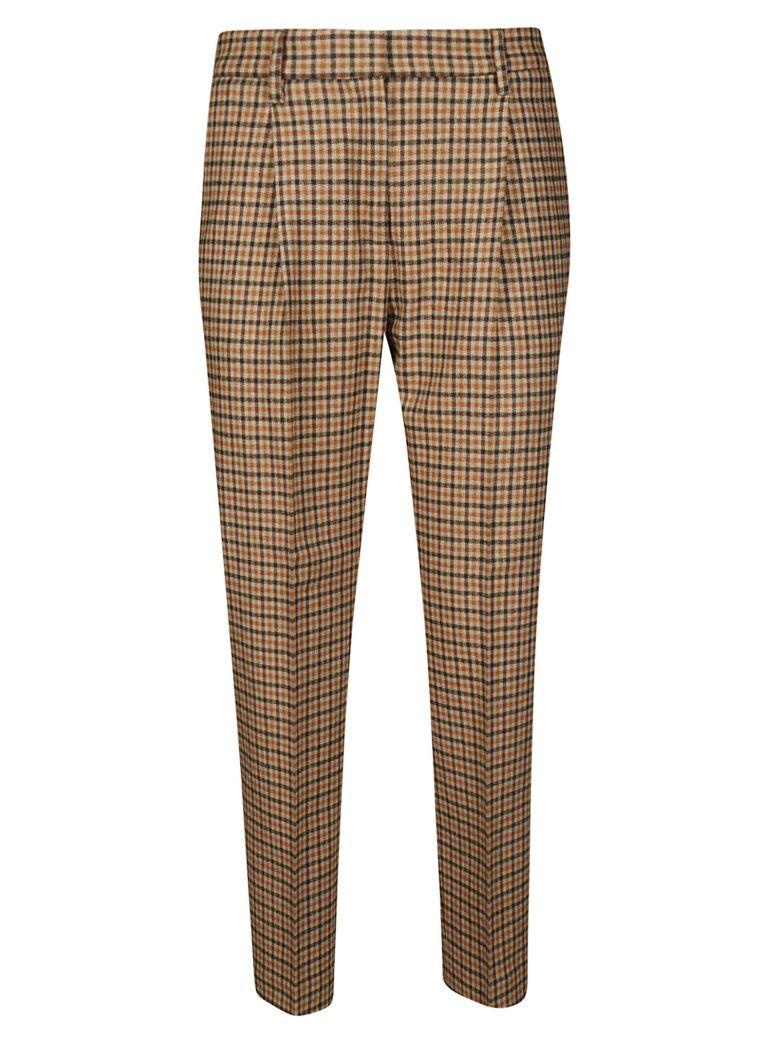 Brag-Wette Checked Trousers - Quadretto