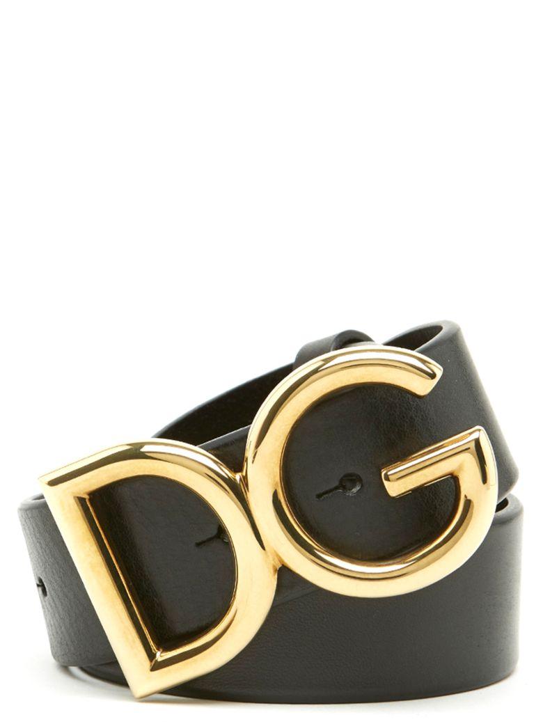 Dolce & Gabbana 'dg' Belt - Black
