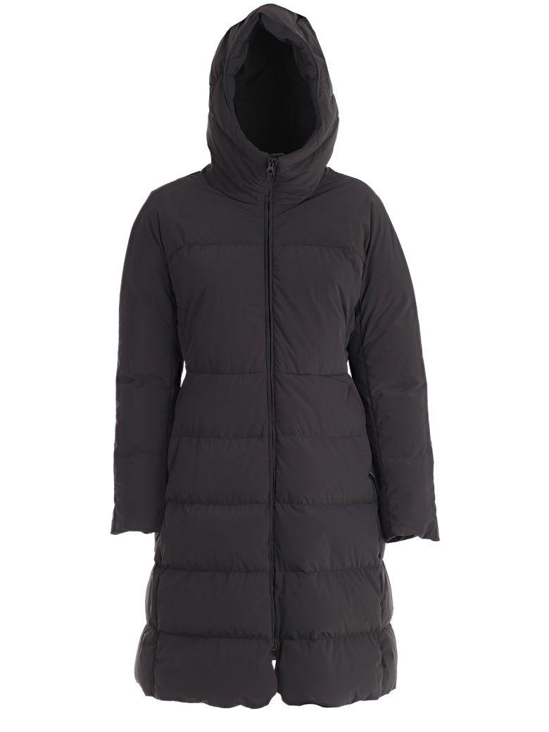 Aspesi Hooded Padded Jacket - Nero