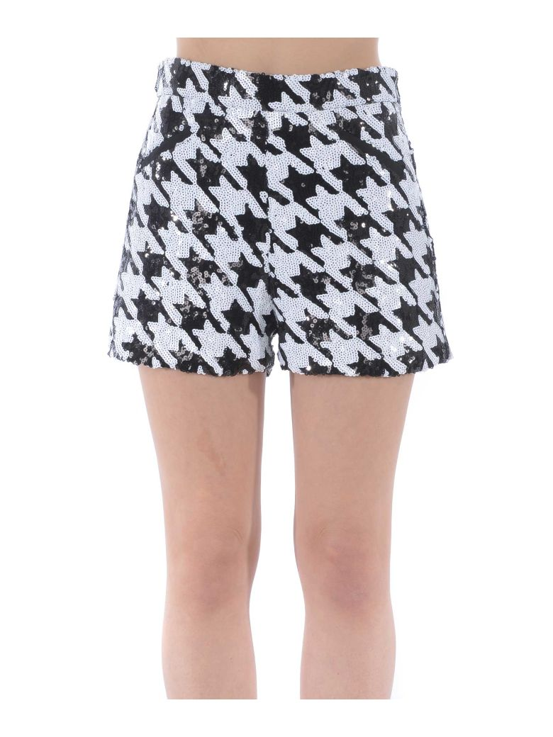 Giuseppe di Morabito Houndstooth Shorts - Nero/bianco