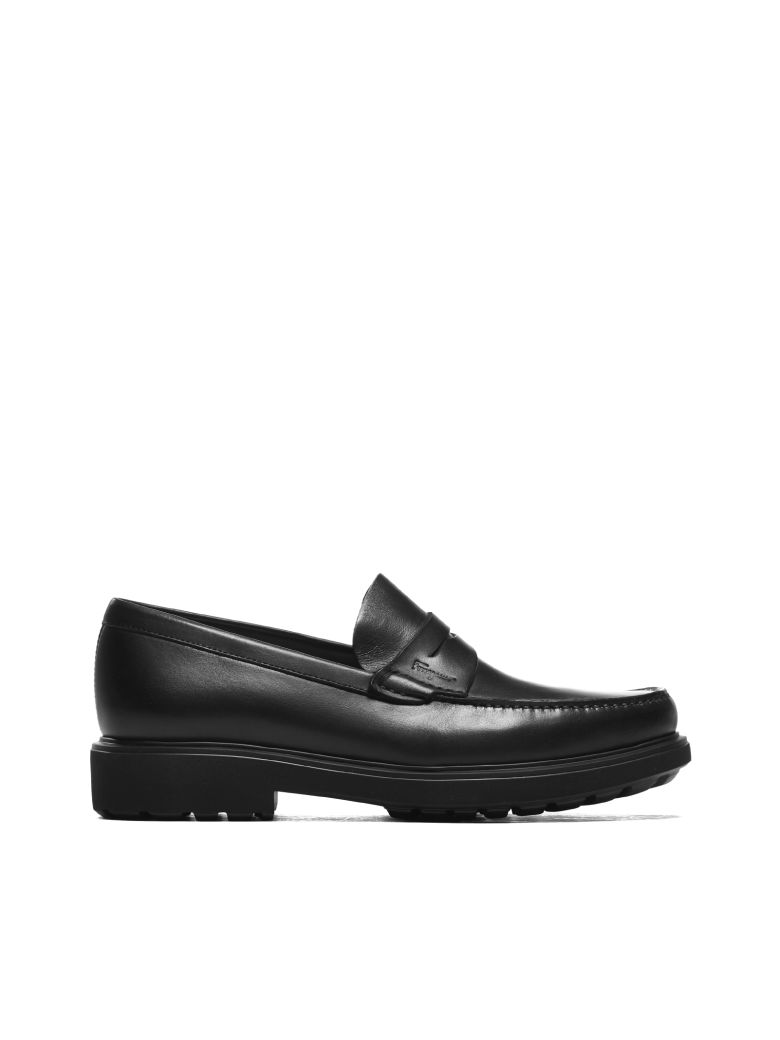 Salvatore Ferragamo Penny Loafers - Nero