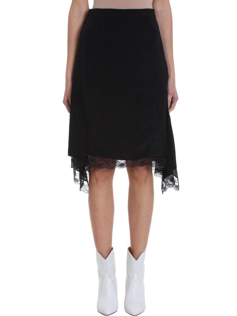 IRO Black Viscose Skirt - black
