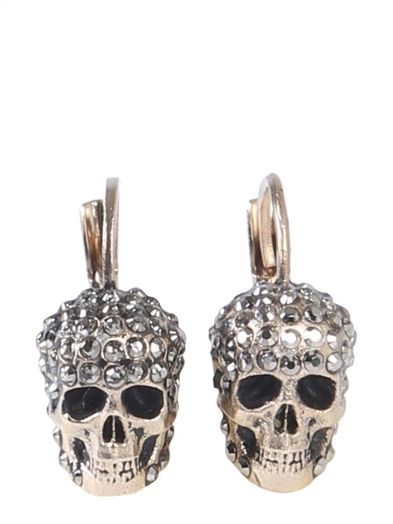 Alexander McQueen Skull Earrings - GRIGIO
