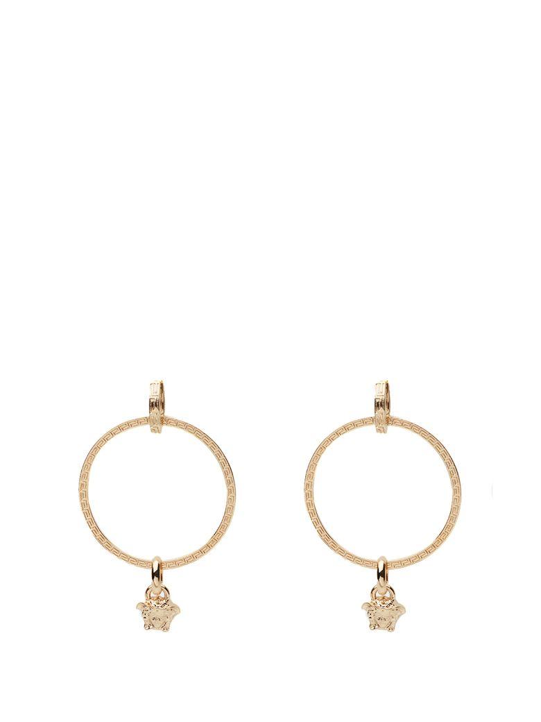 Versace Medusa Hoop Earrings - Oro