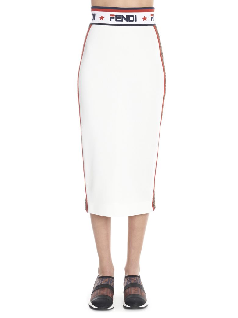 Fendi 'fendi Fix' Skirt - Multicolor