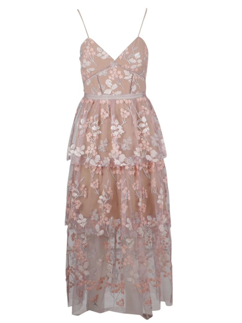 self-portrait Dress - Pink