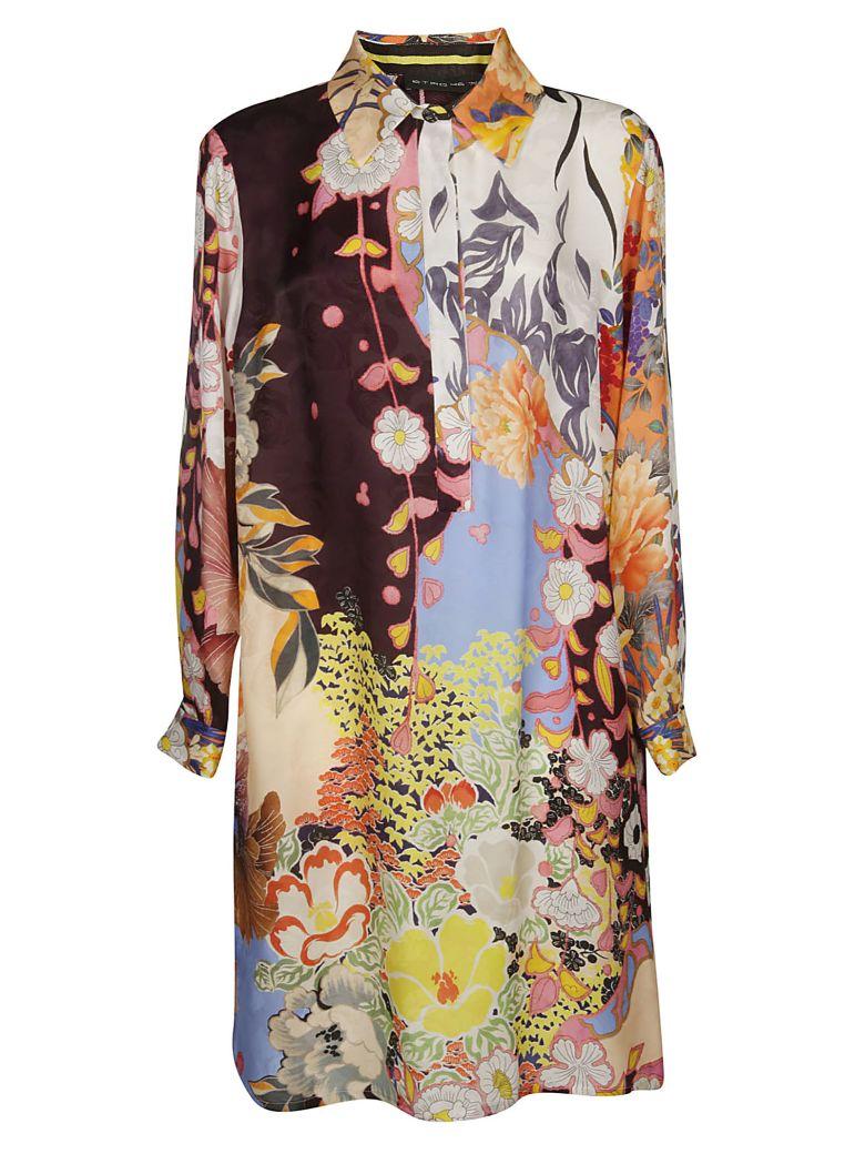 Etro Floral Dress - Multicolor