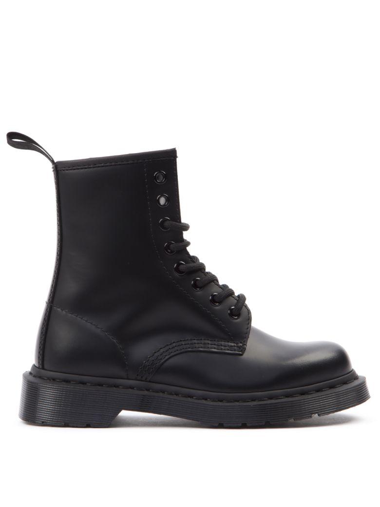 Dr. Martens Black Leather Lace-up Boots - Black