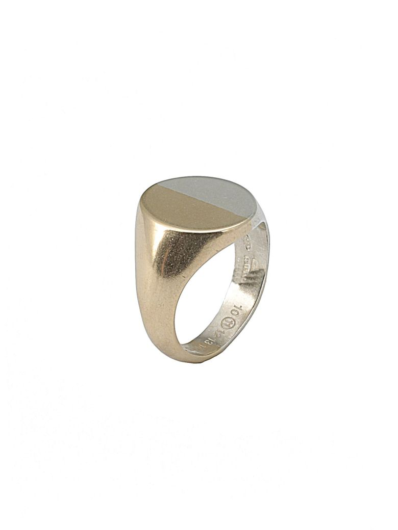 Maison Margiela Silver Ring - SILVER+GOLD