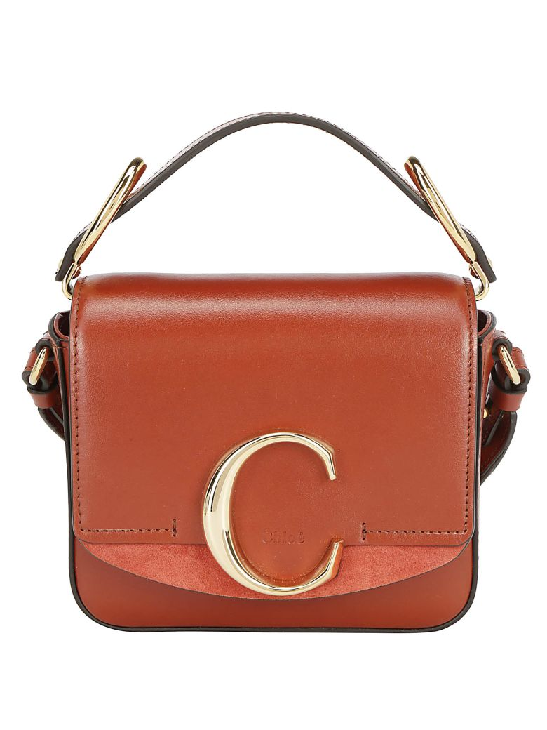 Chloé Mini Shoulder Bag - Sepia brown