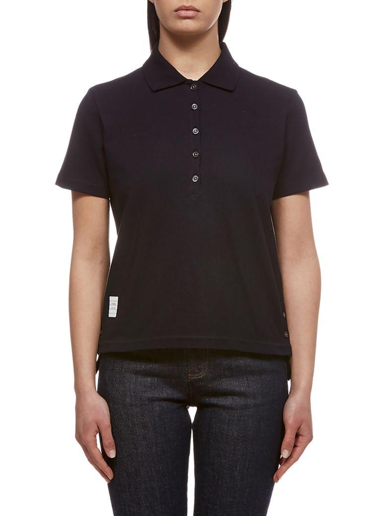 Thom Browne Classic Polo Shirt - Blue