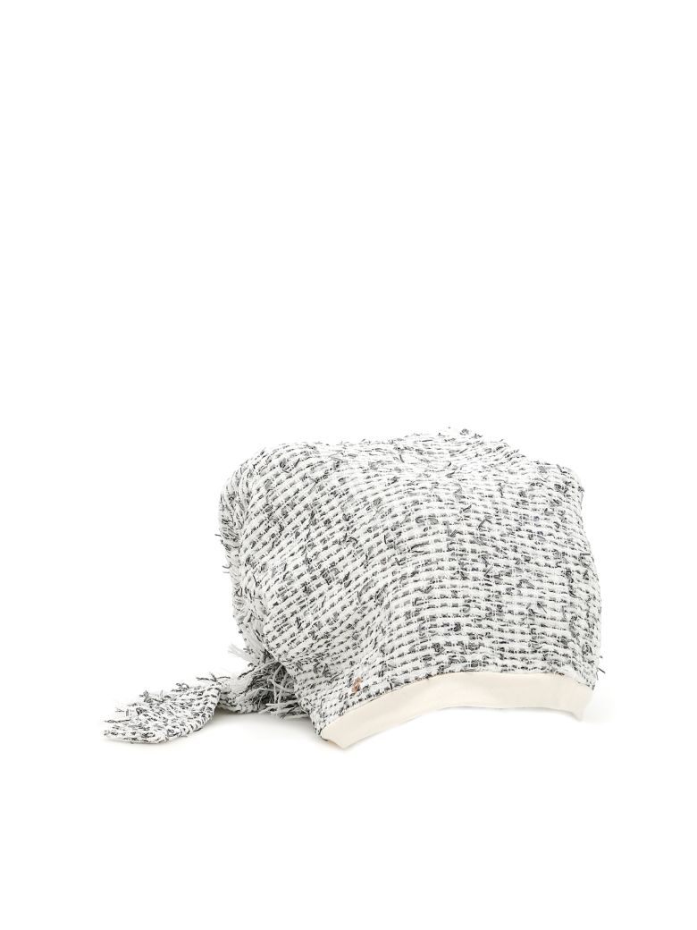 Flapper Atena Hat - WHITE NET (White)