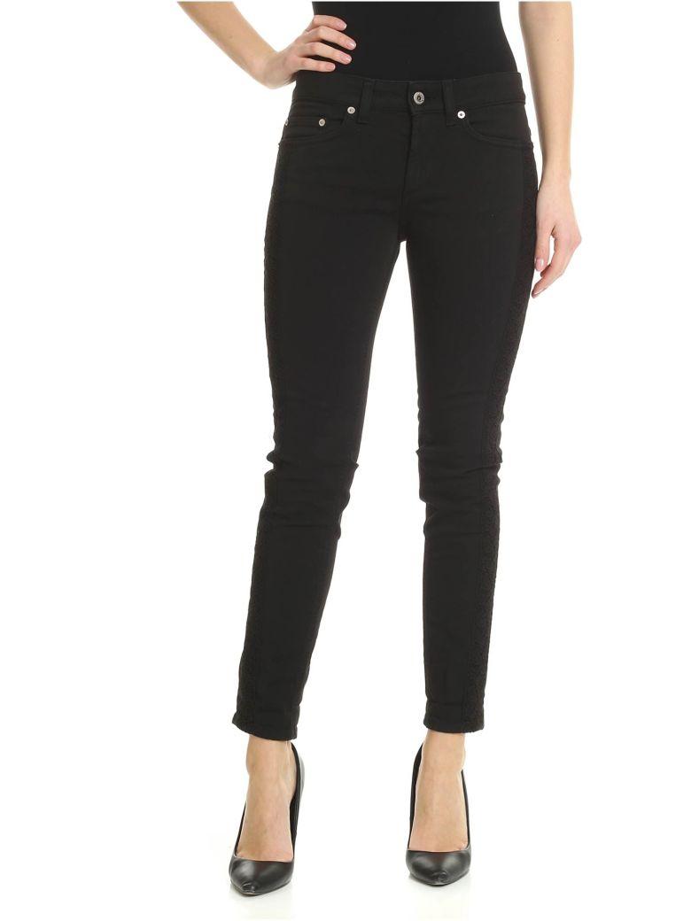 Dondup Monroe Skinny Jeans - Nero