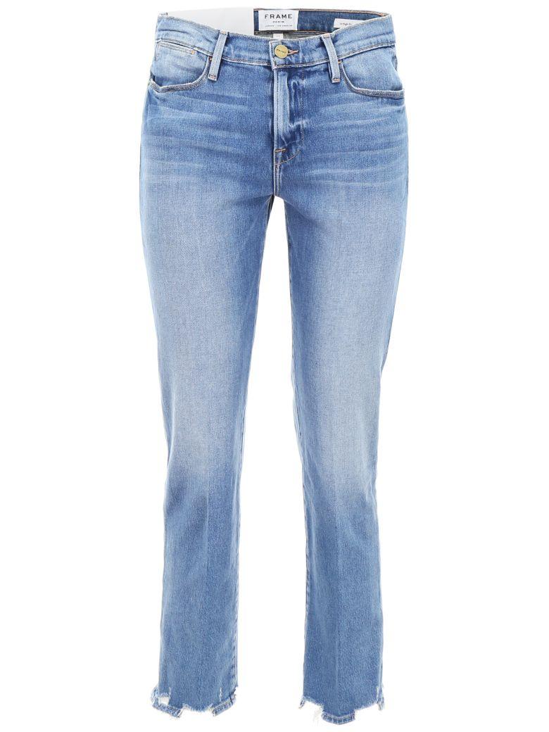 Frame Le High Straight Jeans - BREAKWATER (Light blue)
