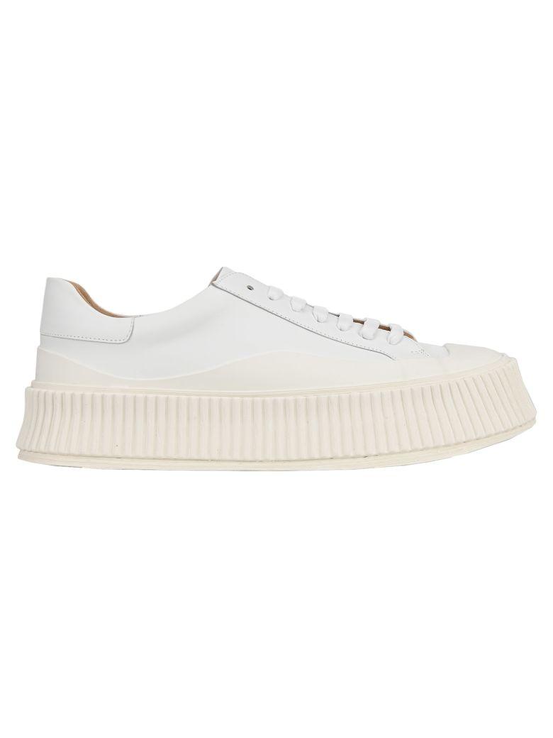 Jil Sander Vulcanized Sneakers - WHITE