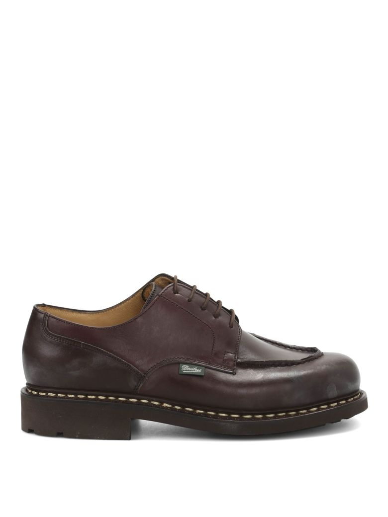 Paraboot Derby Leather Chambord - Brown