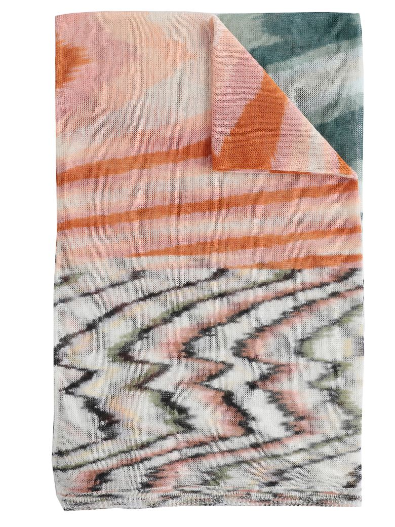 Missoni Multicolor Knitted Scarf - Basic