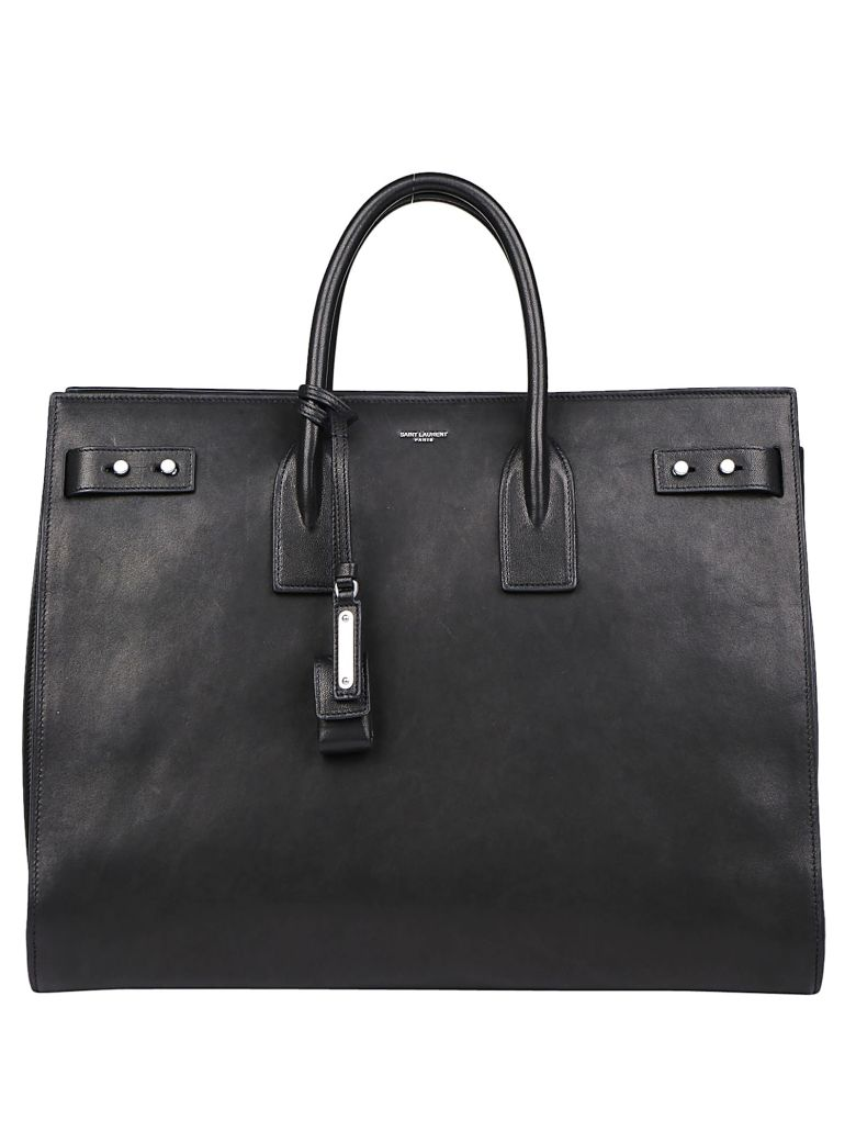 Saint Laurent Sac De Jour Handbag - Black